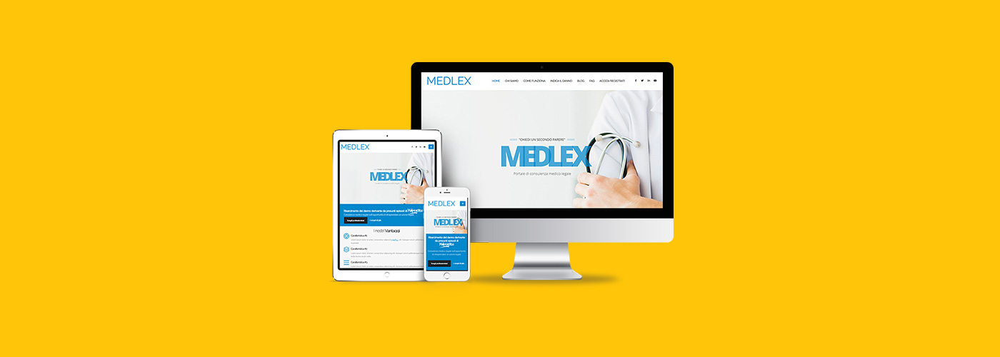 Medlex Medical Malpractice Advice Company Website Preview